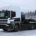 Scania winter testing video