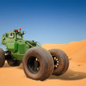 Michelin anti landmine tyres