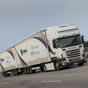 Scania tests LHV consisting of two semi trailers