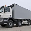 Clixtar DAF, rigid trailer