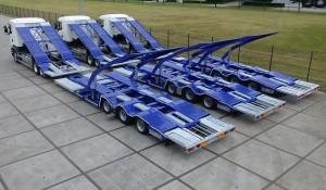 Foto ATF trucktransporters 3 maal