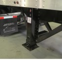 Pneumatic landing legs should save time, weight and fuel