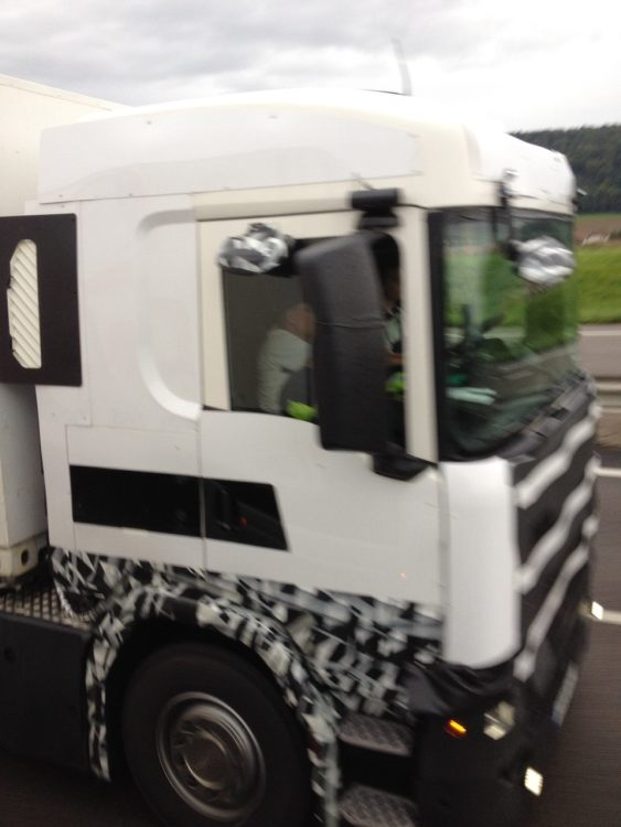 Scoop photo's new Scania generation! – Iepieleaks