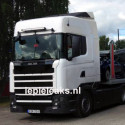 Another Scania fieldtest truck