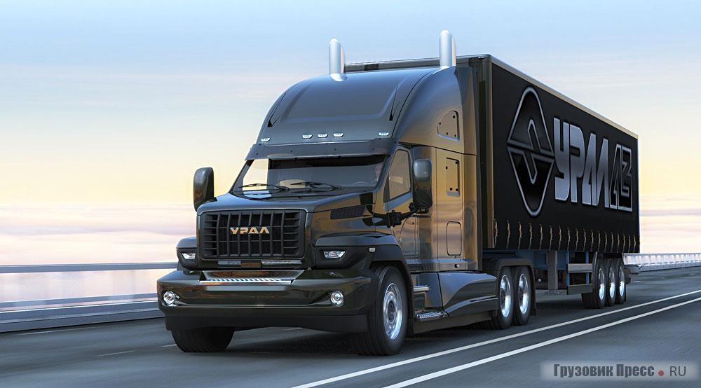 Russian Future Truck Ural Next Iepieleaks