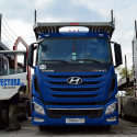Hyundai trucks on European roads