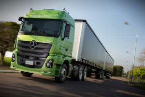 Locally produced truck model Actros 2651