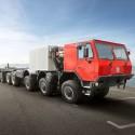 Eight axled Tatra: Biggest ever built!