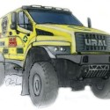 Ural bonneted truck for Dakar 2017