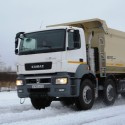 New Kamaz dumptrucks
