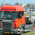 Glass roof for Scania