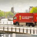 Electric distribution trucks for Heineken in Amsterdam