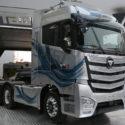 Chinese Auman Super Truck in Europe