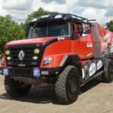 Renault Sherpa rallytruck for Mammoet Rallysport