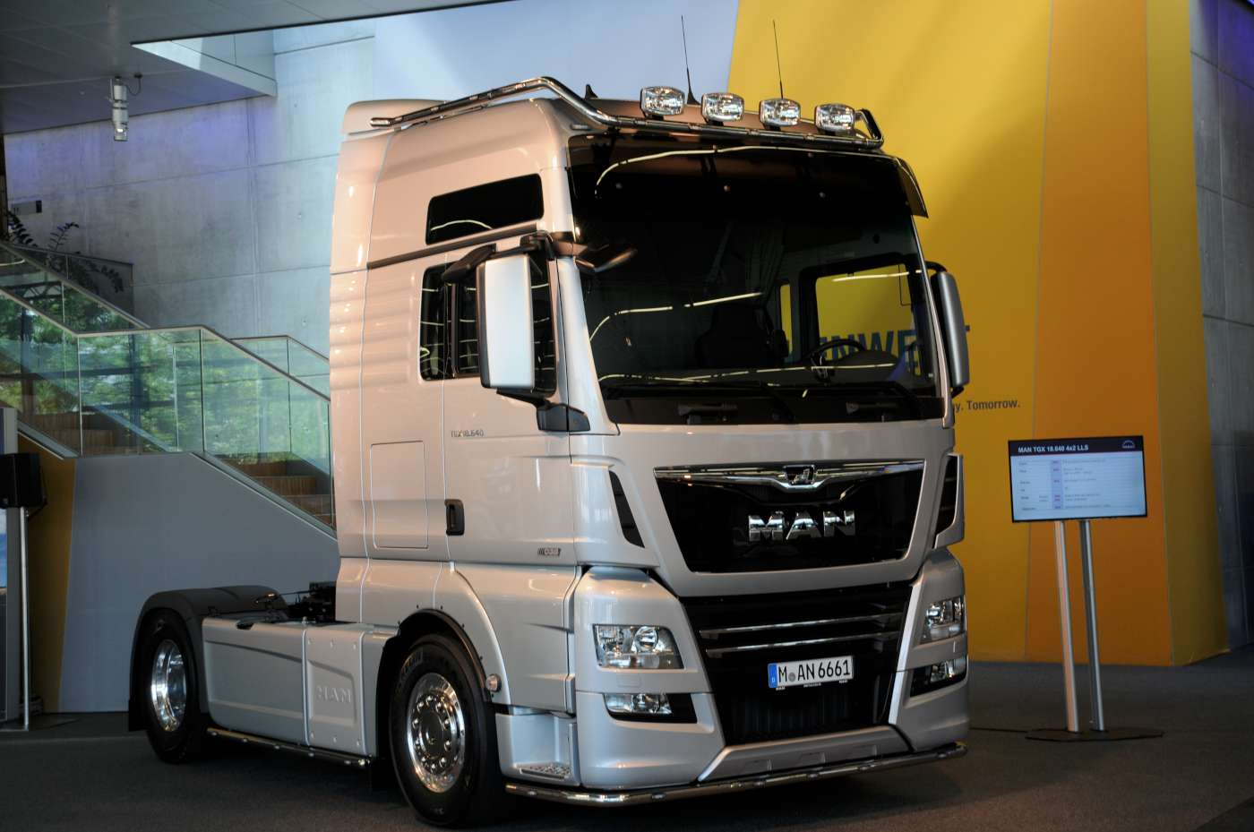 Man Small Facelift More Power And Swedish Gearboxes