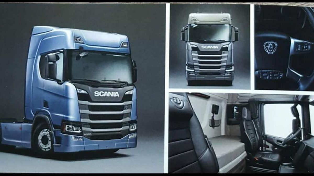 new scania first pictures iepieleaks. Black Bedroom Furniture Sets. Home Design Ideas