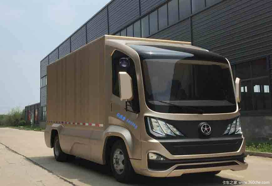 Fully Electric Delivery Van From Chinese Brand Dayun