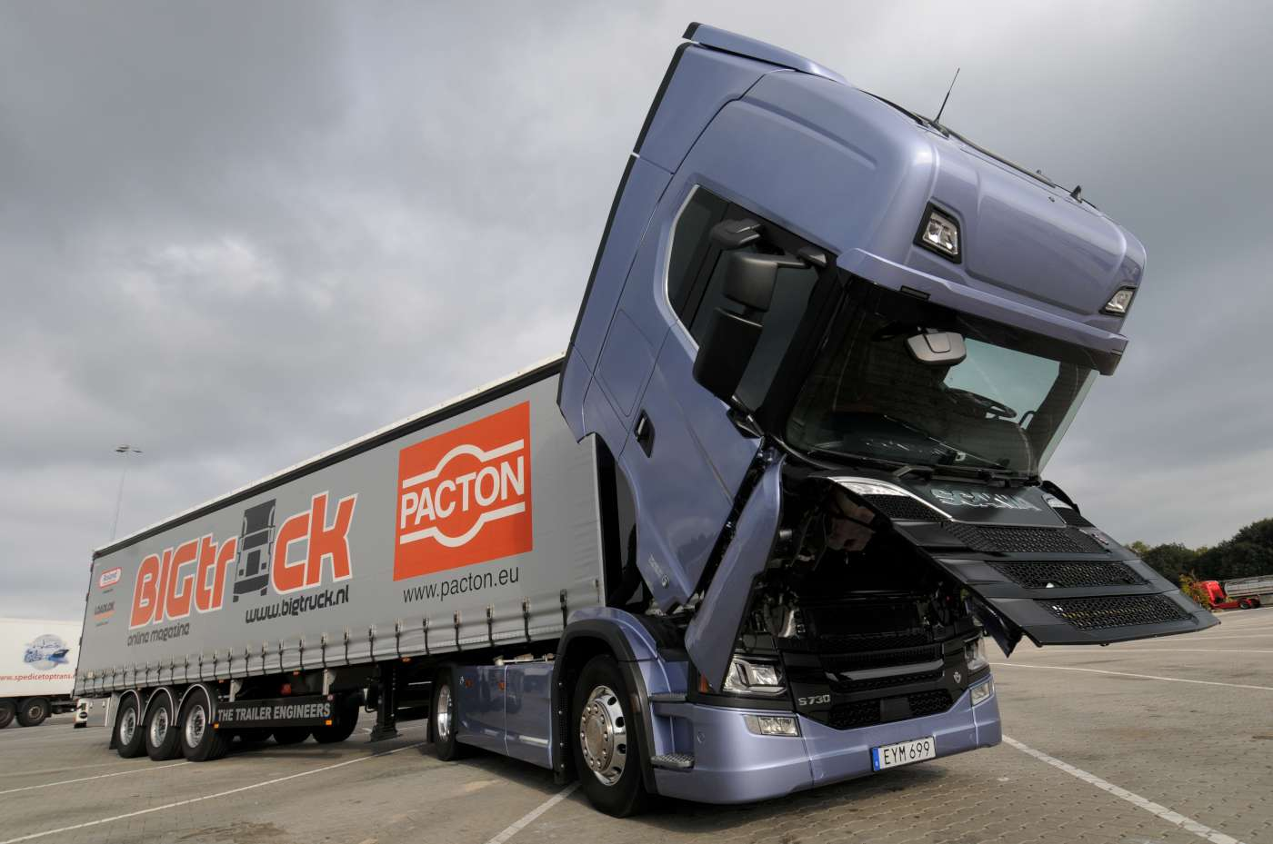 First test of the Scania S730 Highline in BIGtruck – Iepieleaks