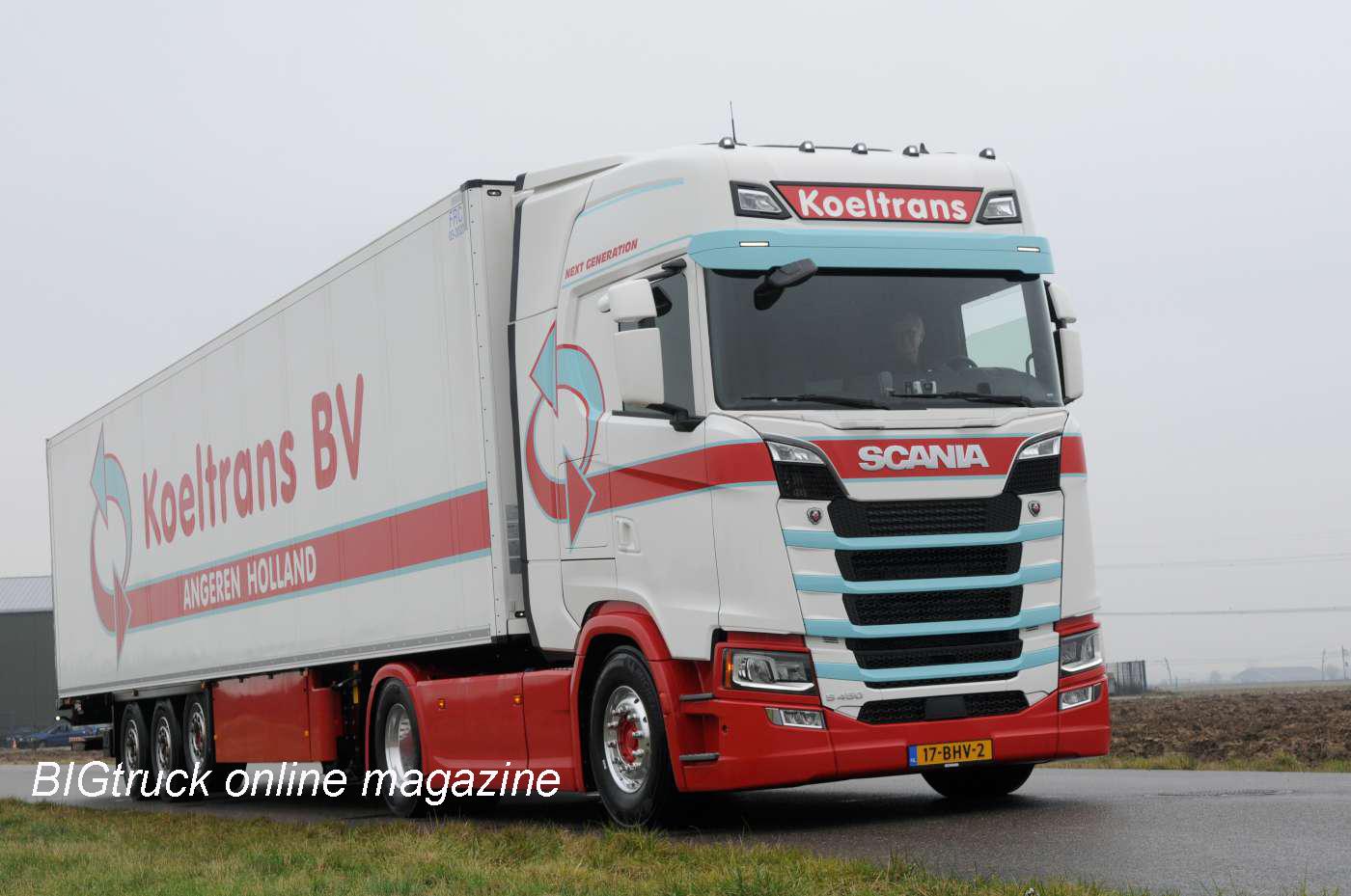 Scania S450 In Koeltrans Livery Iepieleaks
