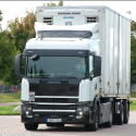 test trucks of the Scania P- and G- series
