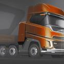 Future Volvo design in artist impression