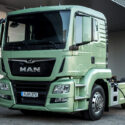 MAN tests e-truck in Vienna