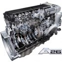 International A26 engine developed by MAN