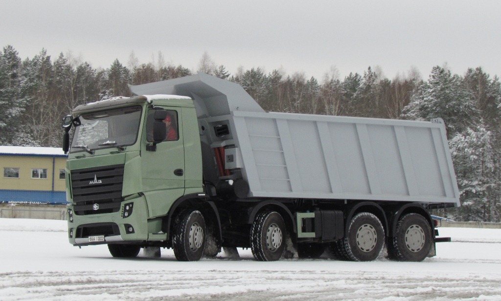 maz starts production euro  trucks iepieleaks
