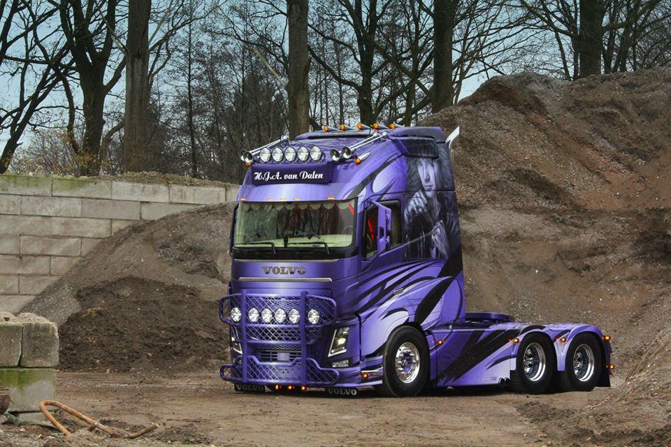 Spectacular Volvo Fh 16 750 In Bigtruck Online Magazine