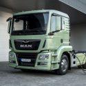 Volkswagen and Porsche logistics testing MAN e-Truck