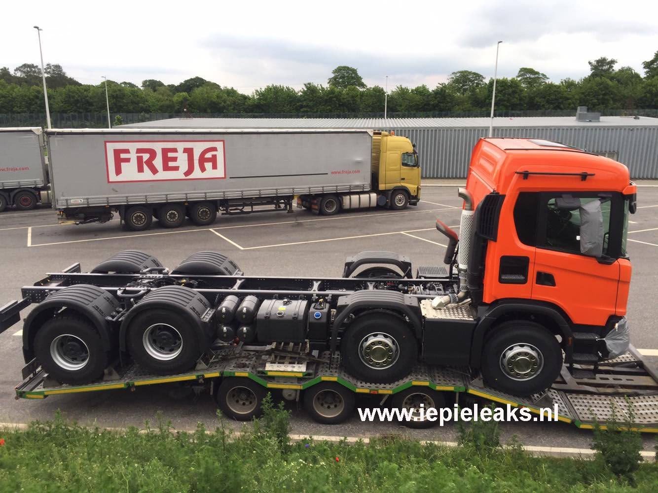 front bumper scania