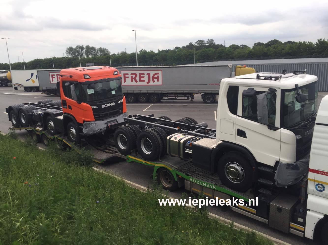 New Scania XT Construction range – Iepieleaks