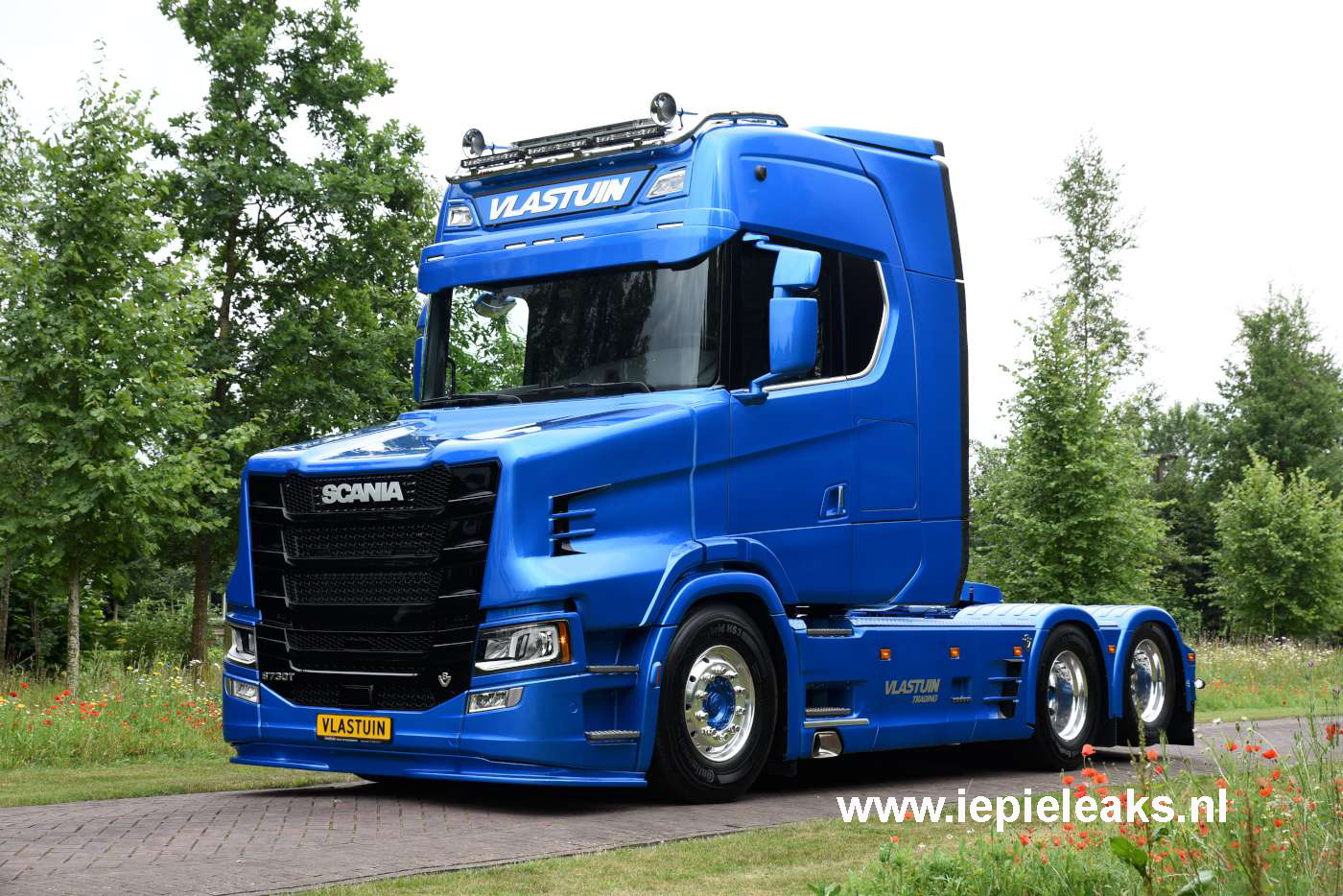 Scania S730t Revealed At Vlastuin Truck Amp Trailerservice
