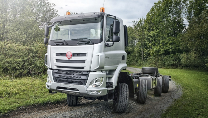 Tatra Has Built A Truck That Could Be Named An 8x8x8 The Four Axled Not Only Is Driven On All Axles They Steer To