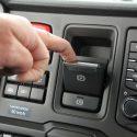 Scania: electric handbrake as an option