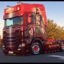 Spectacular new Scania for Beau