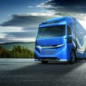 New electric Fuso concept: Vision One