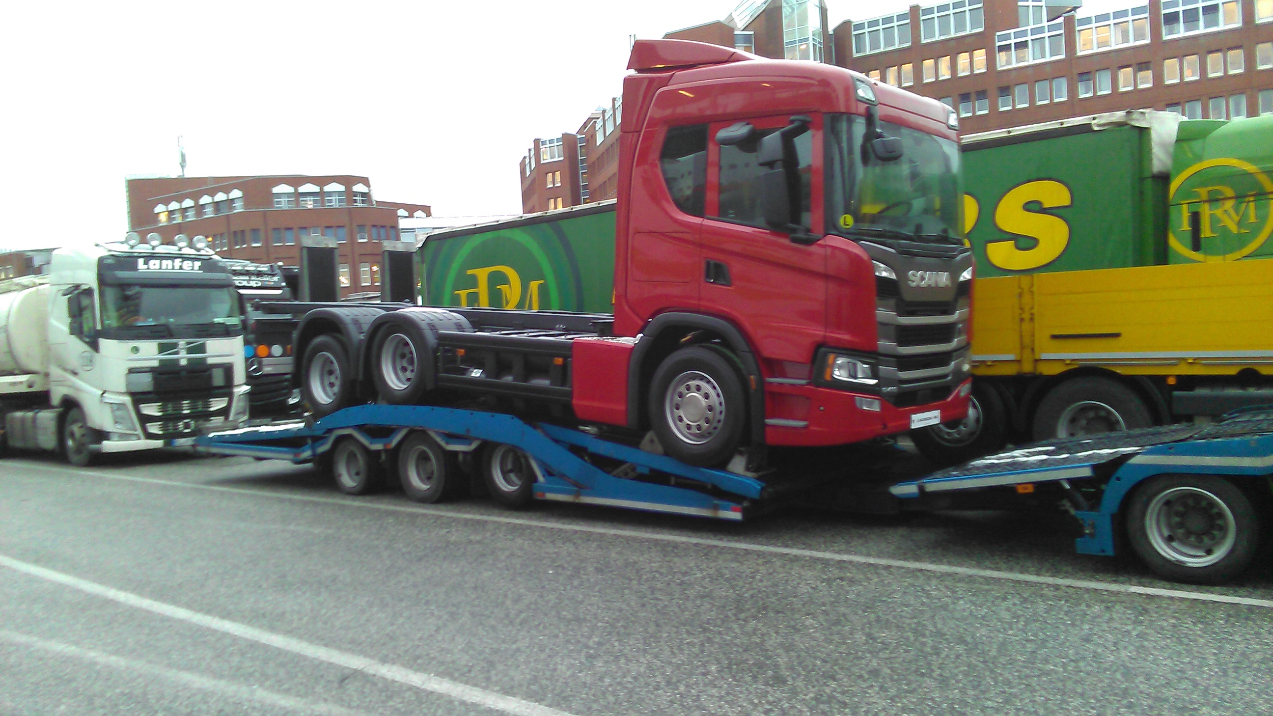 Scania G410 CNG spotted – Iepieleaks