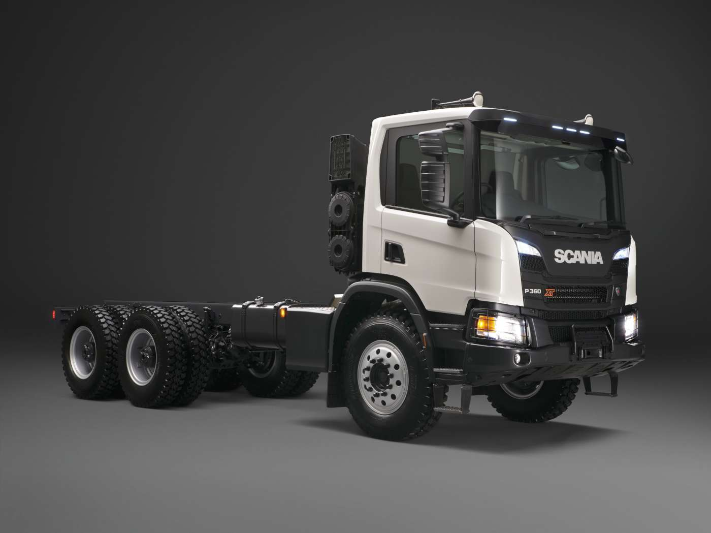 Scania: 10 ton front axles for XT models – Iepieleaks