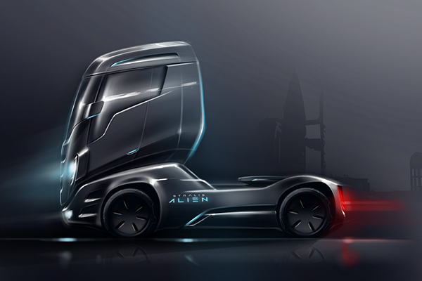Design study for Iveco – Iepieleaks