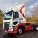 DAF Safety Truck for David Watsons Transport Ltd
