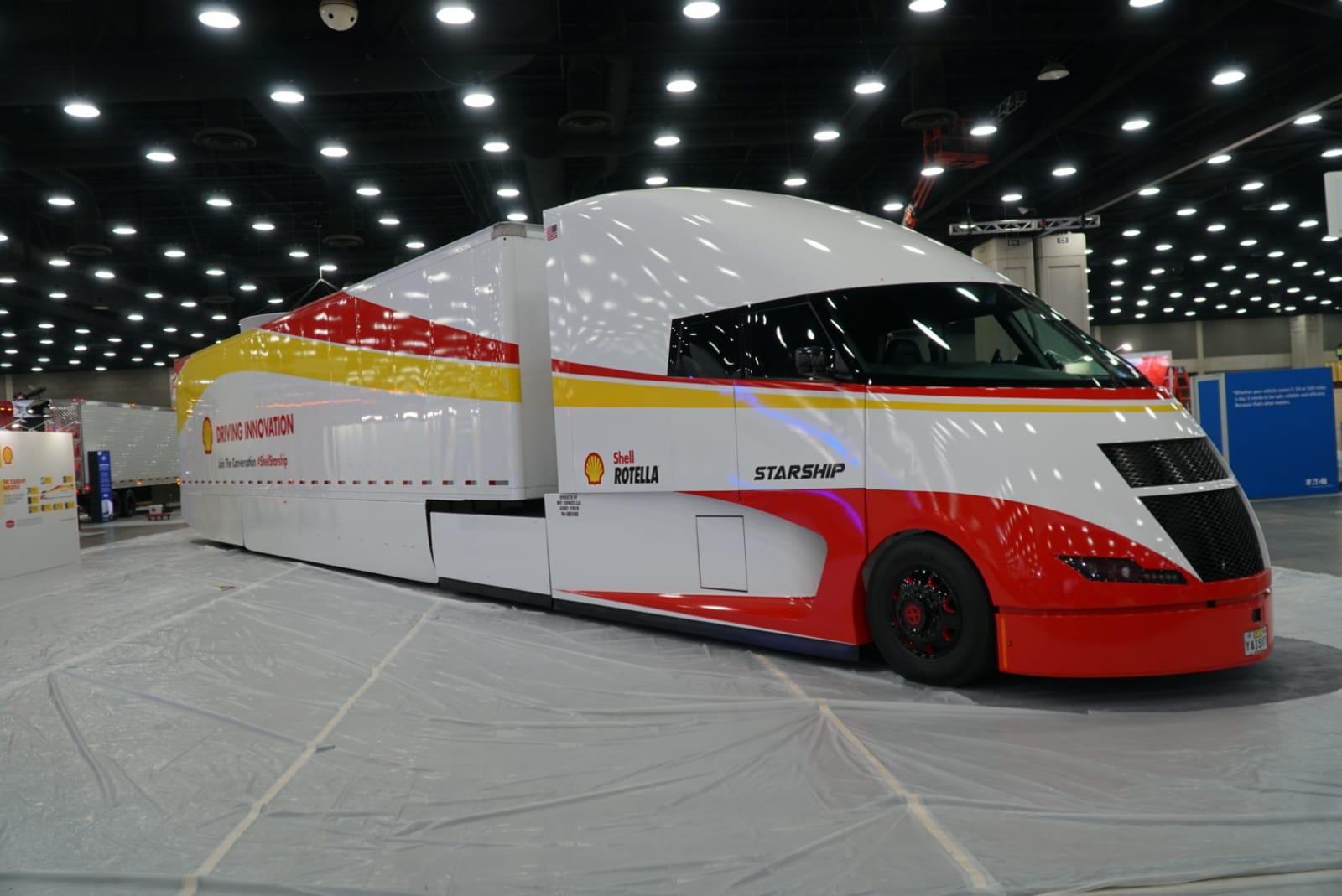 Starship Airflow Truck On Mid American Truckshow Iepieleaks