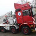 A rare four axle Volvo F12