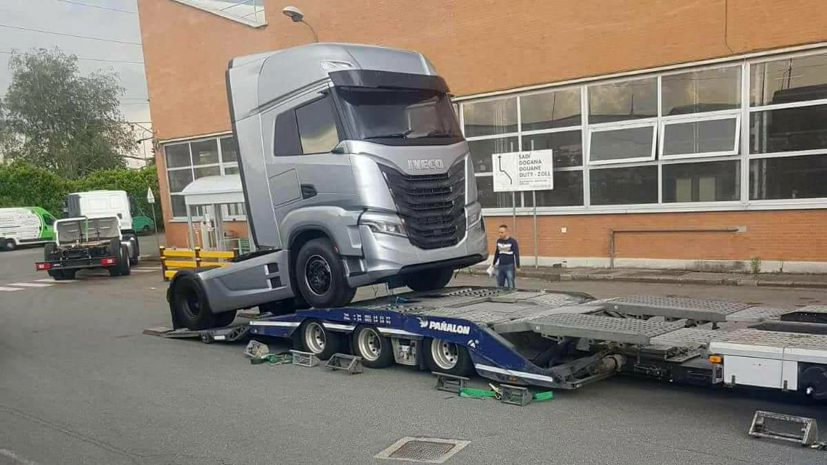 New Iveco truck spotted! ? – Iepieleaks