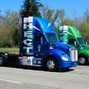 Kenworth T680 Hybrid truck