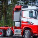 Sisu Polar Hauler heavy transport tractor