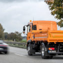 MAN autonomous safety vehicle for road construction work