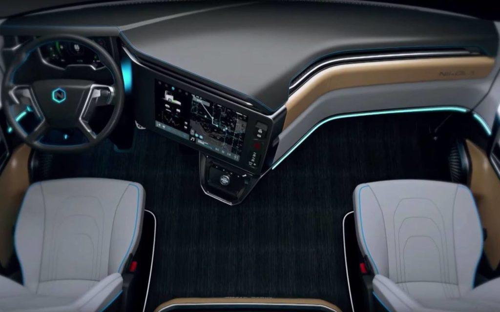 New Tesla Truck >> Interior pictures Nikola Tre – Iepieleaks