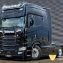 Scania with unique extended cab goes to France