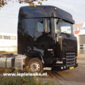 New DAF; Large cab, compact exhaust system